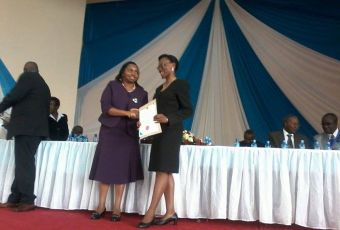 Celebrating one of our own; Jacqueline Aseka